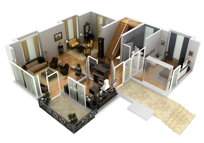 Free 3d basement design basements reno finished in 2 weeks for Design my basement online free