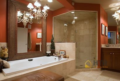 Basement Finishing - Glass Showers - Finished Bathrooms