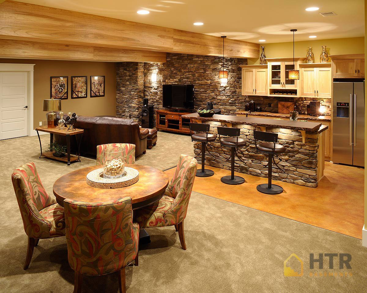 Basement Finishing - High-End Designs