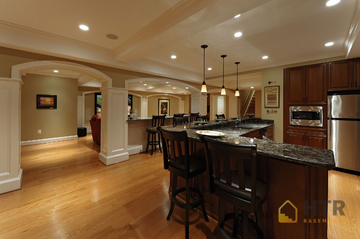 Basement Finishing - Traditional Basement Design