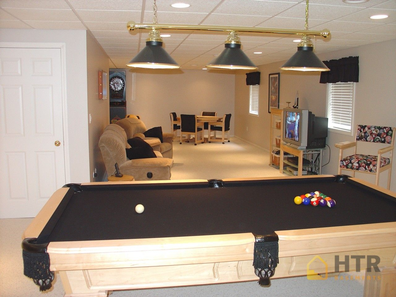 Basement Finishing - Game Rooms