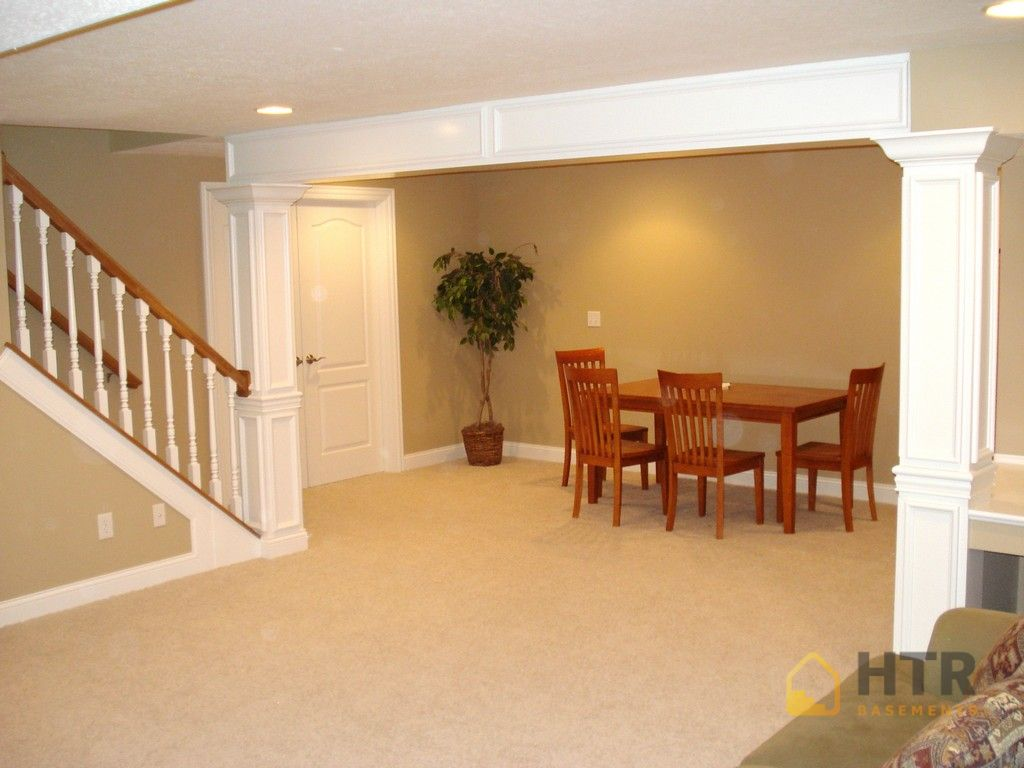 Basement Finishing - Columns and Trim