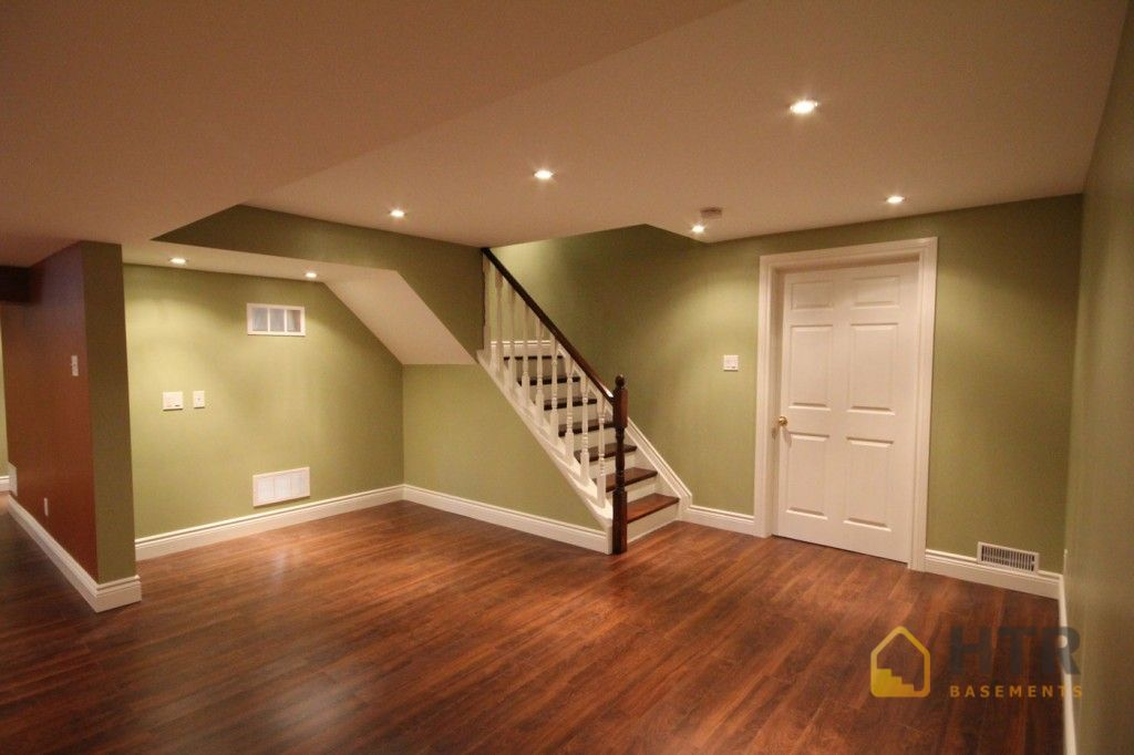 Basement Finishing - High Quality Flooring