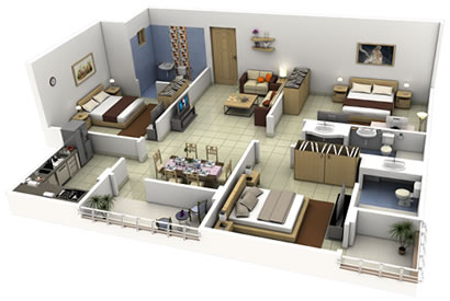 Basement Finishing - Free 3D Designs