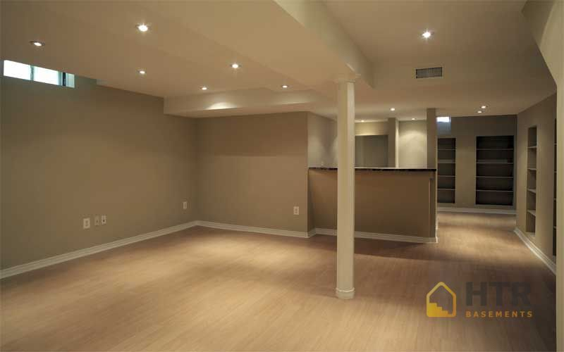 basement finishing open area basement 3647212632 basement design decorating - Simple Basement Designs