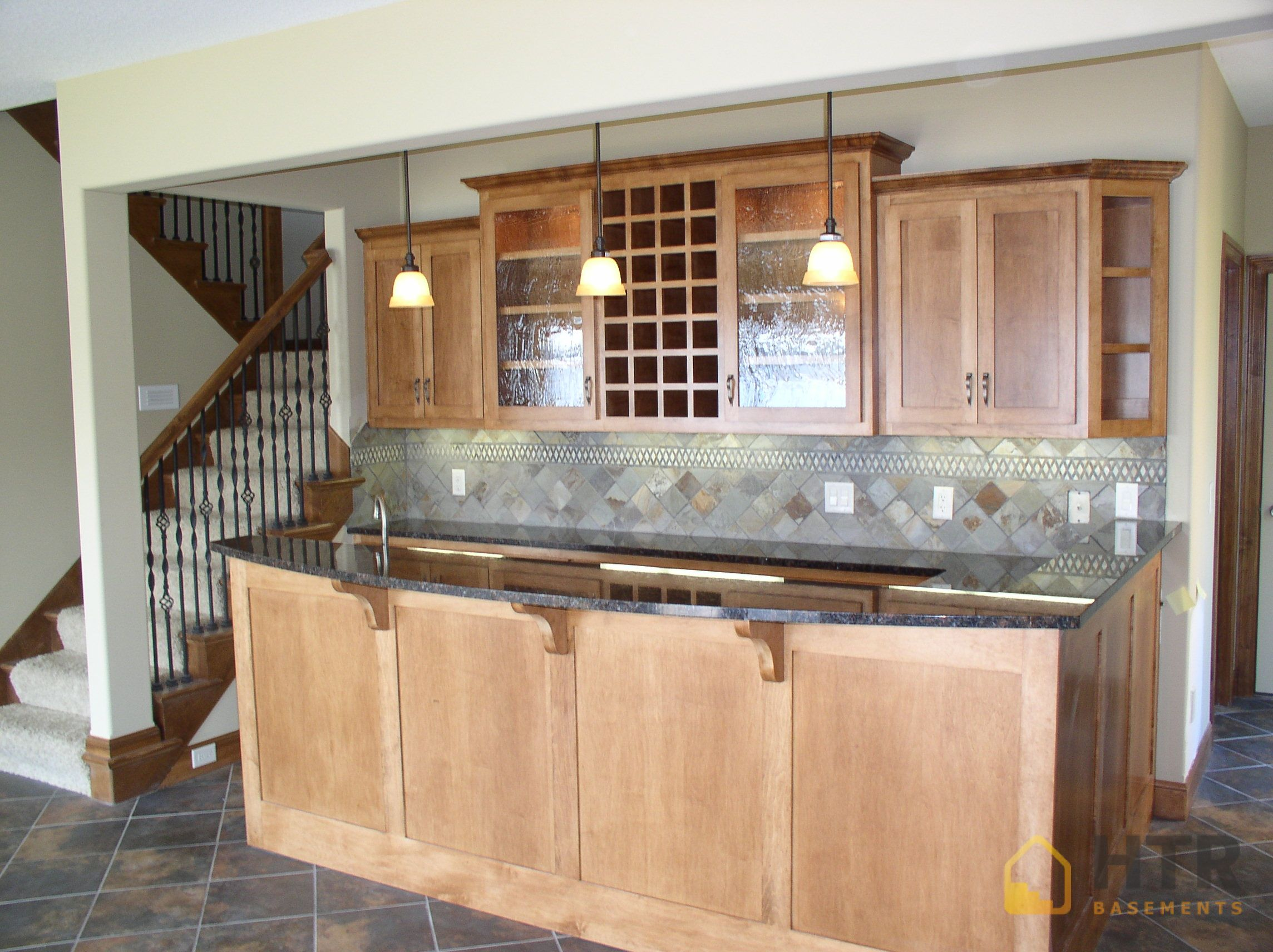 Basement Finishing - Basement Kitchens