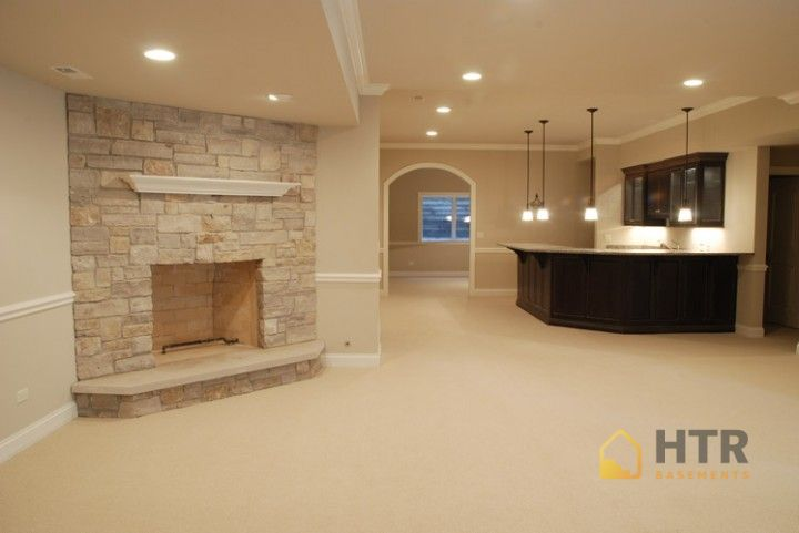 Basement finishing projects high tech renovation - Finished basement ideas pictures ...